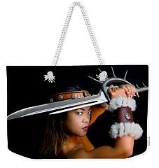 Armed And Dangerous Weekender Tote Bag
