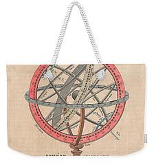 Armillary Sphere  Weekender Tote Bag by Sergey Lukashin