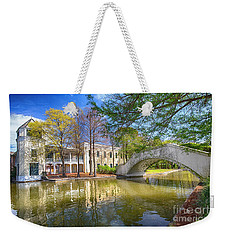 Weekender Tote Bag featuring the photograph Armstrong Park, New Orleans, La by Ron Sadlier