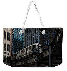 Around The Corner, Chicago Weekender Tote Bag by Reinier Snijders