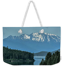 Weekender Tote Bag featuring the photograph Around The Corner by Melissa Lane