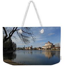 Around The Lake Weekender Tote Bag