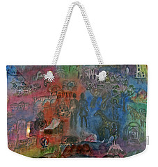 Around The World Weekender Tote Bag