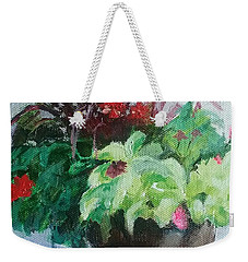 Arrangement Weekender Tote Bag