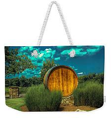 Arrington Vineyards Barrel Weekender Tote Bag