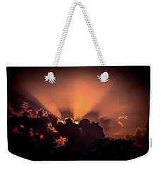 Arrival Of The Titans Weekender Tote Bag