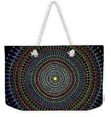 Weekender Tote Bag featuring the painting Art 2 by Mariusz Czajkowski