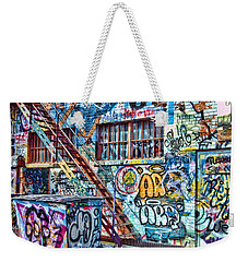 Art Alley 2 Weekender Tote Bag