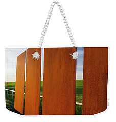 Art And The Horizon, Dallas Texas Weekender Tote Bag