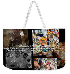 art collage Italy Weekender Tote Bag