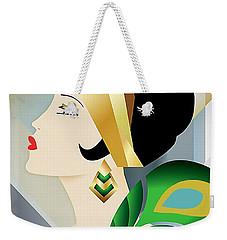 Roaring 20s Flapper Weekender Tote Bag