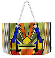 Art Deco 26 Weekender Tote Bag