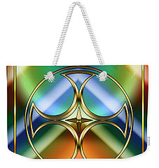 Art Deco 38 - Chuck Staley Weekender Tote Bag by Chuck Staley