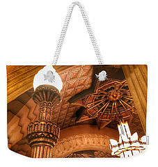 Art Deco Ceiling Weekender Tote Bag