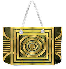 Art Deco Forest Weekender Tote Bag
