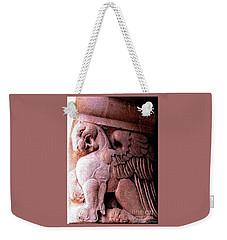 Art Deco Griffin Circa 1925 Weekender Tote Bag by Peter Gumaer Ogden