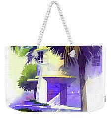 Art Deco Hotel Miami Weekender Tote Bag