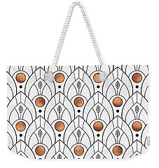 Art Deco Leaves 1 Weekender Tote Bag