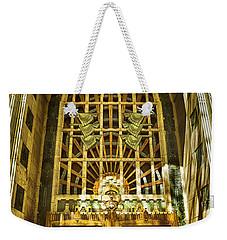 Art Deco Marine Building Weekender Tote Bag
