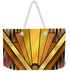 Art Deco 12v Weekender Tote Bag