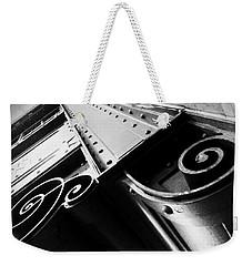 Art Deco Steel Weekender Tote Bag