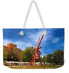 Art Fair Painting Weekender Tote Bag