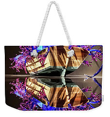 Art Glass Reflection By Chihuly Weekender Tote Bag