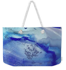 Weekender Tote Bag featuring the glass art Art Glass by Sheila Mcdonald