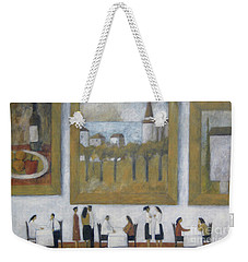 Art Is Long, Life Is Short Weekender Tote Bag by Glenn Quist
