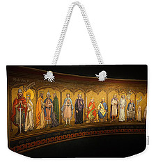 Weekender Tote Bag featuring the photograph Art Mural by Jeremy Lavender Photography