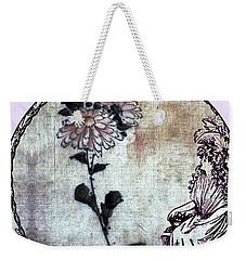 Weekender Tote Bag featuring the photograph Art Nouveau Woman  by Robert G Kernodle