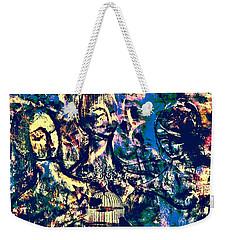 Art Of Connections Weekender Tote Bag