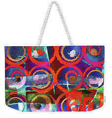 Art Poster Paint Weekender Tote Bag