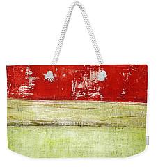 Art Print Rotgelb Weekender Tote Bag