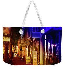 Art Row - Fredericksburg, Virginia Weekender Tote Bag by Glenn Gemmell