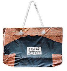 Art Shirt Weekender Tote Bag
