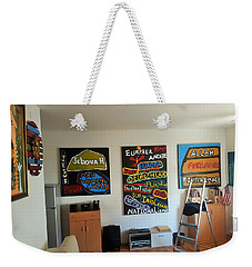 Art Studio Rear View Weekender Tote Bag
