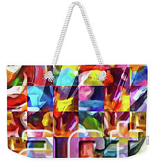 Art Type Weekender Tote Bag