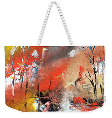 Weekender Tote Bag featuring the painting Art Work by Sheila Mcdonald