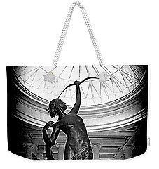 Weekender Tote Bag featuring the photograph Artemis At Huntington Library by Lori Seaman