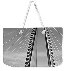 Arthur Ravenel Jr Bridge II Weekender Tote Bag by DigiArt Diaries by Vicky B Fuller
