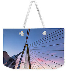 Arthur Ravenel Jr. Bridge Light Trails Weekender Tote Bag