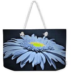 Artic Blue Gerber Daisy Weekender Tote Bag