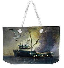 Artic Ice To Sea Weekender Tote Bag
