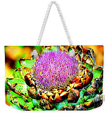 Artichoke Going To Seed  Weekender Tote Bag by Antonia Citrino