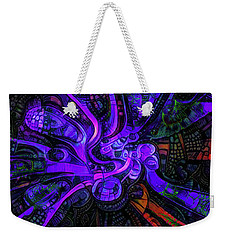 Weekender Tote Bag featuring the digital art Artificial Fallopian Tubes by Steve Taylor