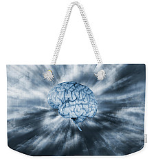 Artificial Intelligence With Human Brain Weekender Tote Bag