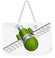 Artificial Satellite Weekender Tote Bag