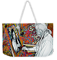 Artist In Abstract Weekender Tote Bag by Ian Gledhill