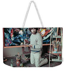 Artist In His Studio Weekender Tote Bag